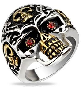 Skull smykker og ringe